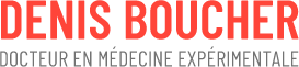 Dr Denis Boucher Ph.D. Logo